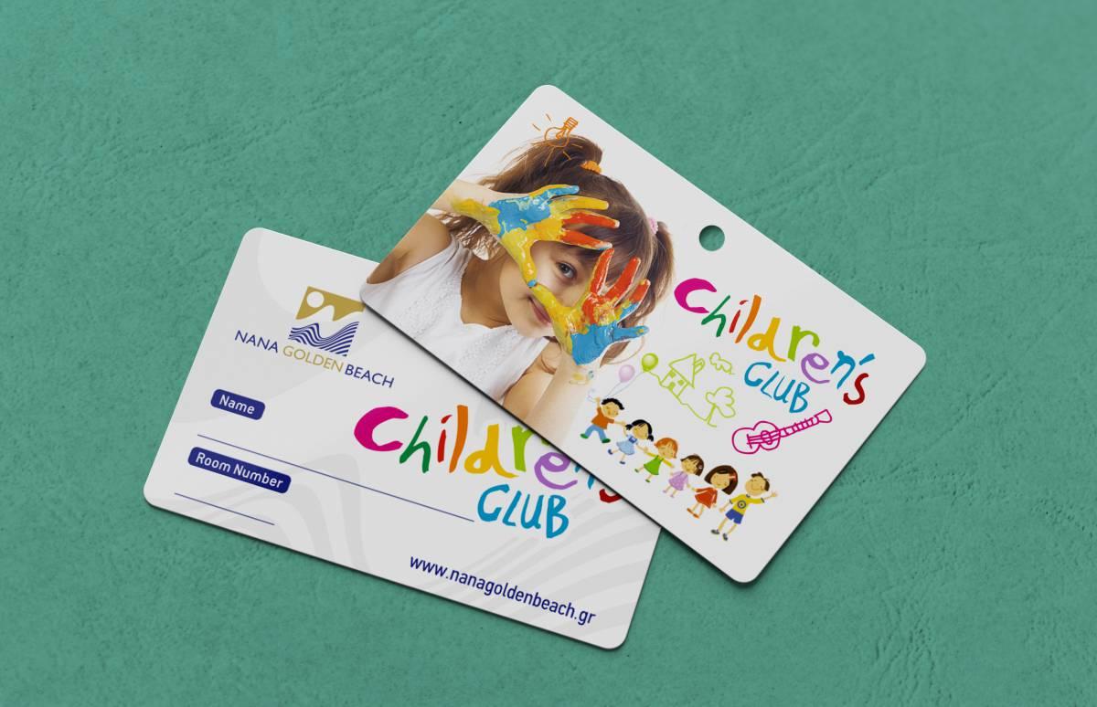 Nana Golden Bea childrens club card