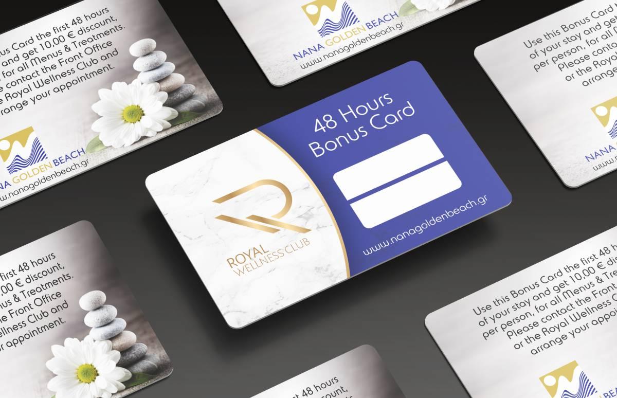 Nana Golden Beach wellness card