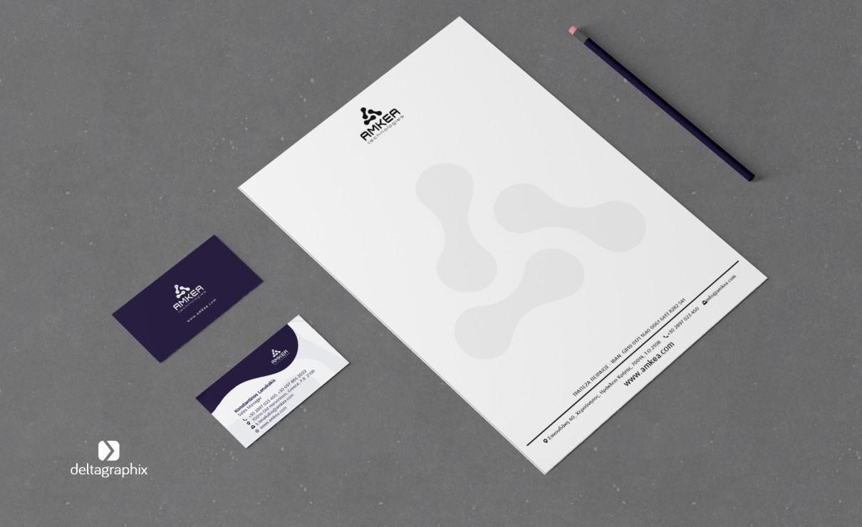 AMKEA branding, εταιρική ταυτότητα
