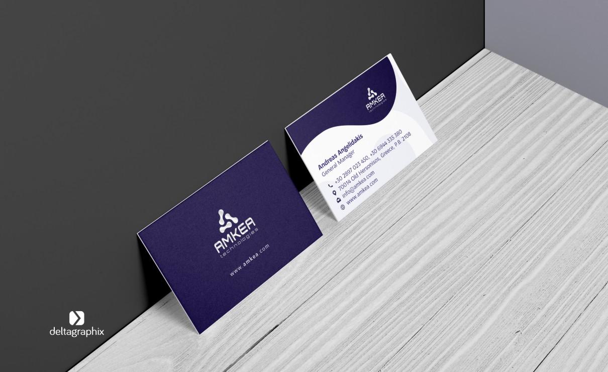 AMKEA επαγγελματικές κάρτες