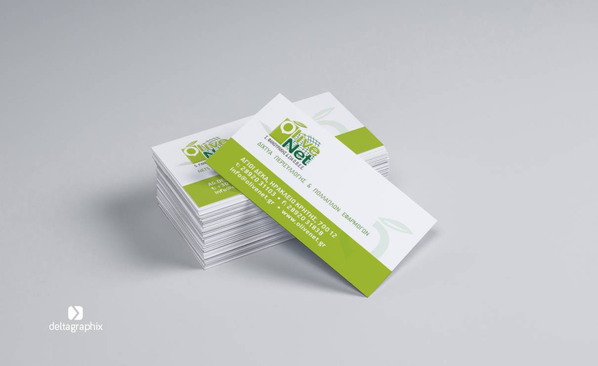 Olivenet Business cards
